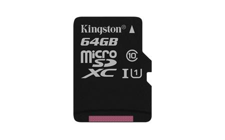 Kingston microSD Canvas Select 64GB