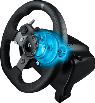 logitech g920 driving force racing wheel volant pro xbox one a pc. Black Bedroom Furniture Sets. Home Design Ideas