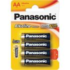 Panasonic LR6 4BP AA Alk Power alk