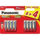 Panasonic LR6 8BP AA Pro Power alk