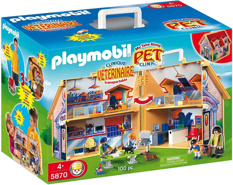 playmobil city life 5870 veterinární klinika  exasoftcz