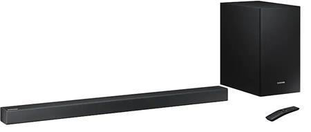 Samsung SoundBar HW R450, 2.1, BT, černý