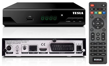 Tesla TE-310 DVB-T2 HEVC FTA