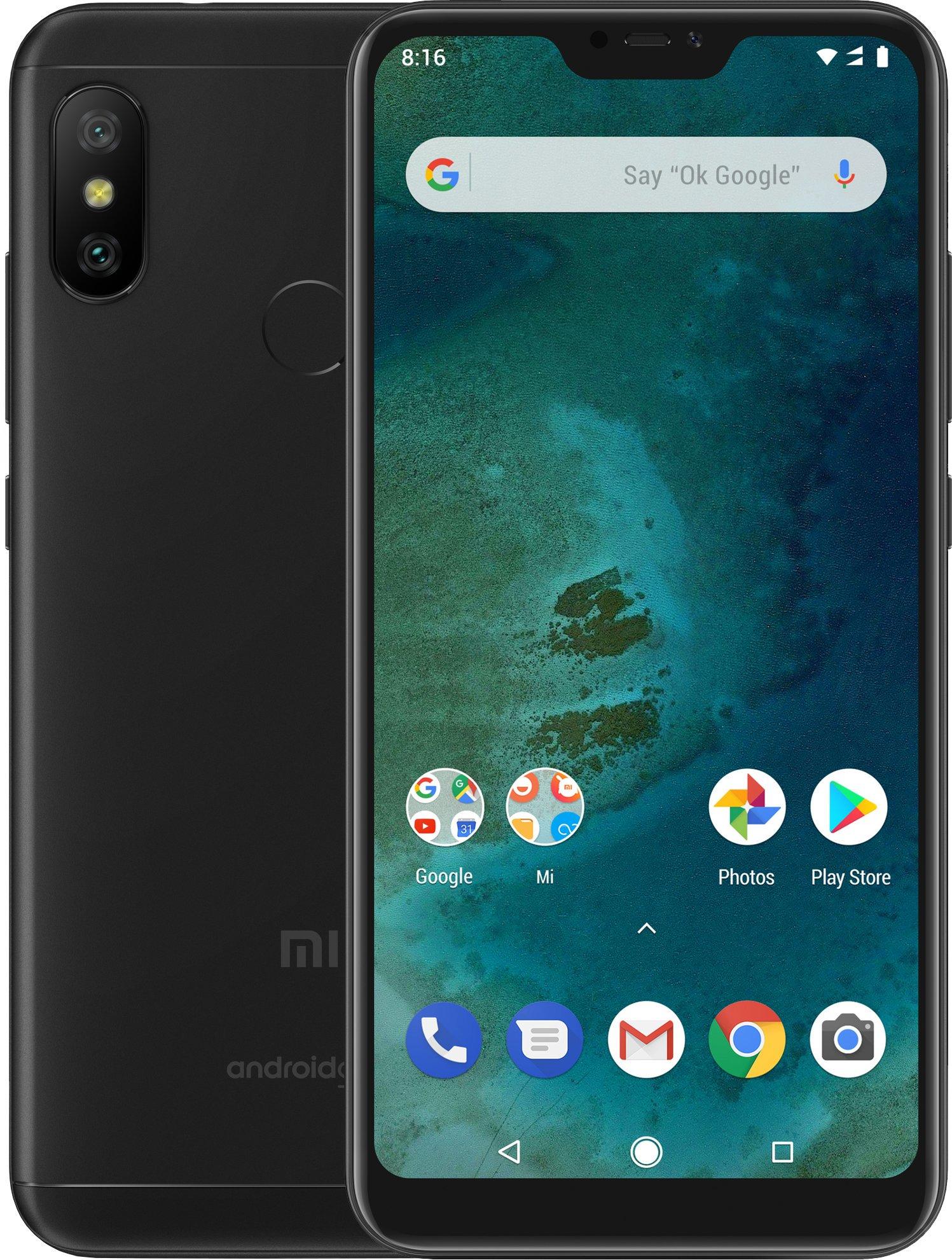 Xiaomi Mi A2 Lite Dual SIM GLOBAL CZE LTE černá