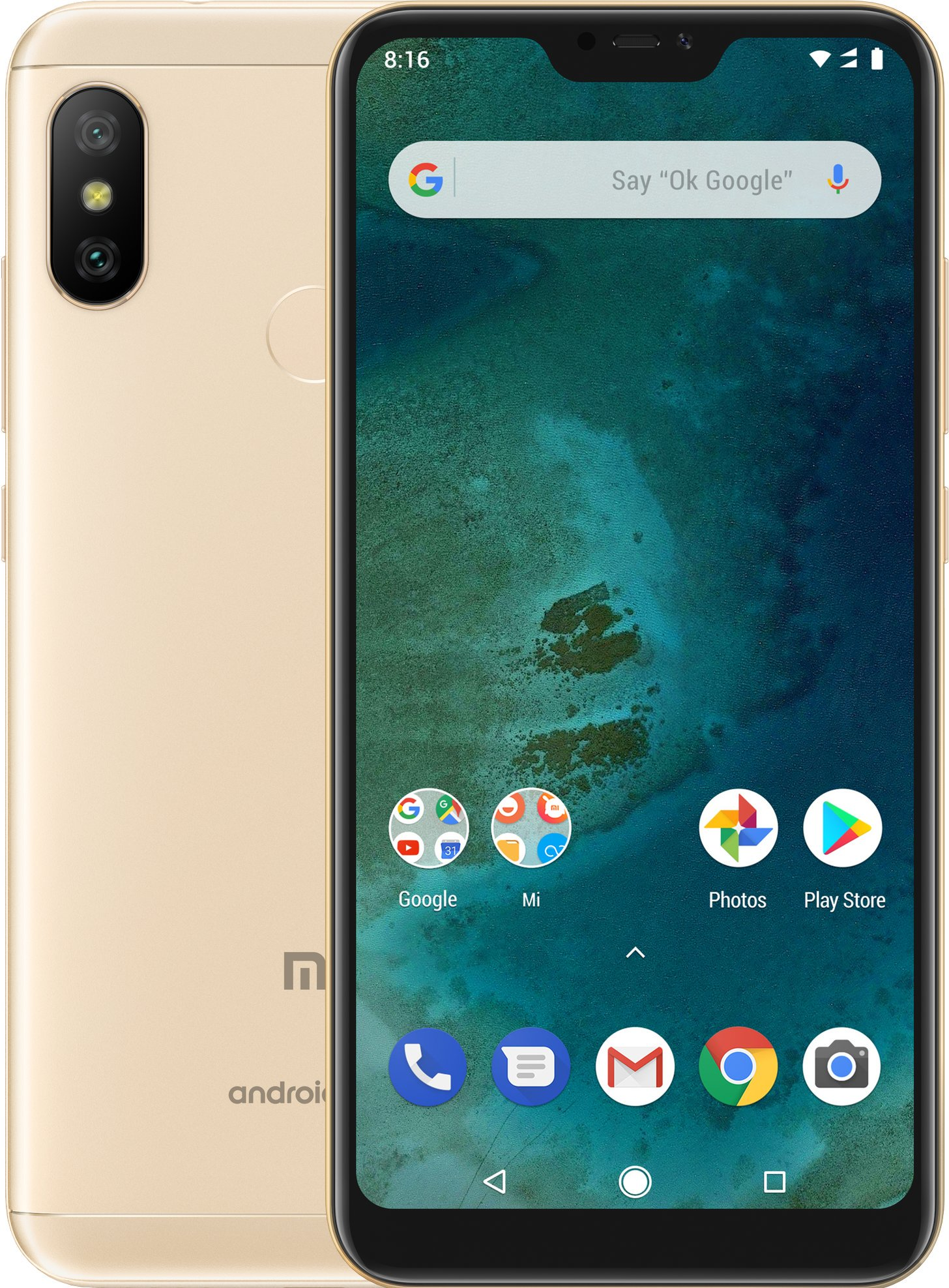 Xiaomi Mi A2 Lite Global CZ LTE 3GB 32GB zlatá