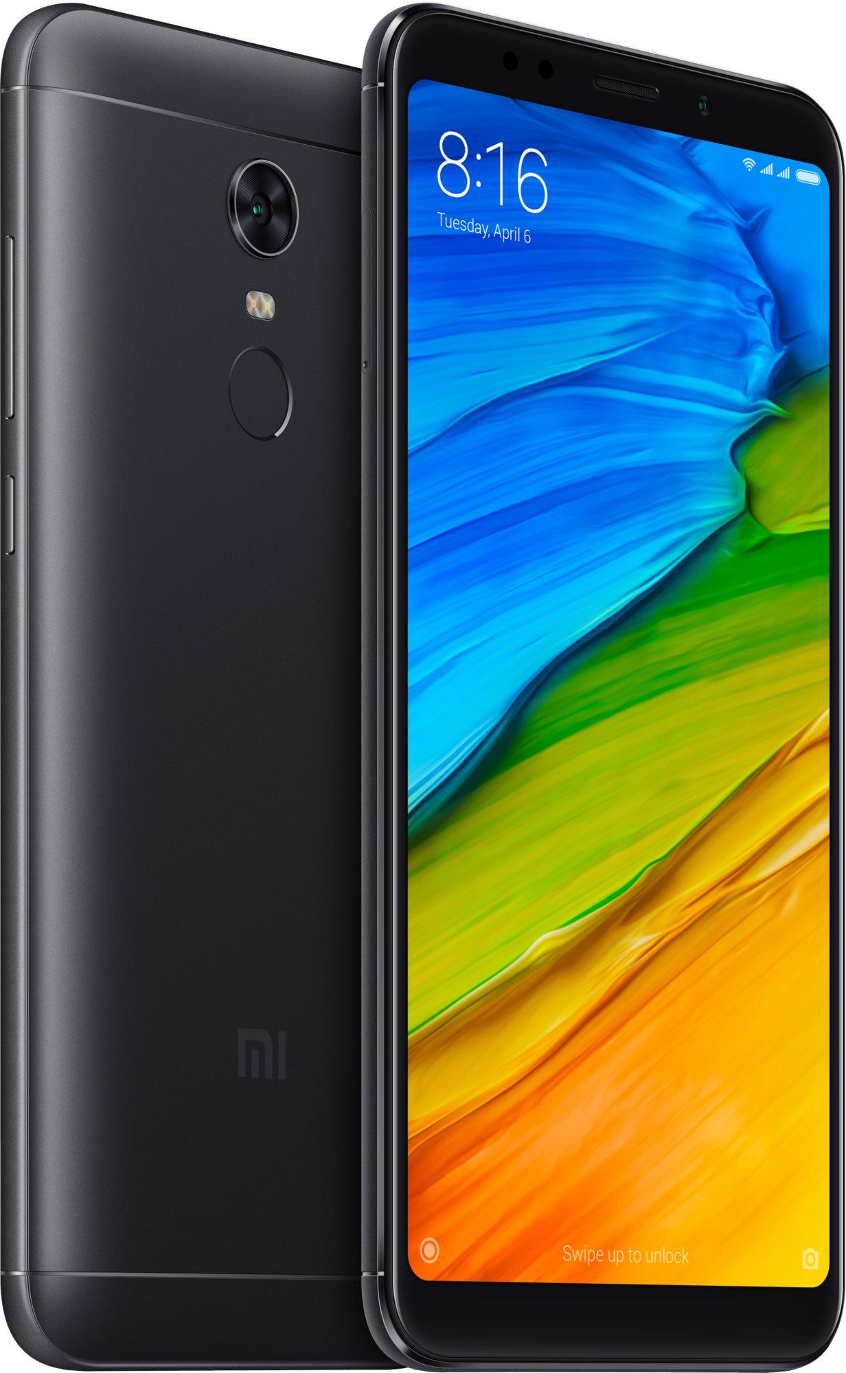 Xiaomi RedMi 5 Plus GLOBAL 4GB 64GB CZ LTE čern½